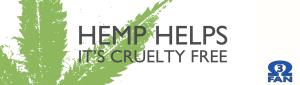 sticker series _ hemp is cruelty free